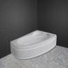 Акрилна вана ОНИКС 150х100 см. с носеща конструкция, асиметрична