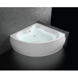 Хидромасажна вана СОФИЯ ПРЕМИУМ ФЛАТ, ъглова, с нагревател, за двама, различни размери, с нагревател