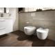 Комплект ROCA MERIDIAN RIMLESS тоалетна чиния и капак с з.п., структура ROCA