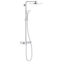 Термостатна душ система GROHE Euphoria SmartControl System 310 DUO, управление с бутони, с душ глава с 2 функции и ръчен душ с 3 функции, 26507000