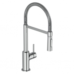 Смесител за кухня IDEAL STANDARD Ceralook с ръчен душ с 2 функции, полупрофесионален, стоящ