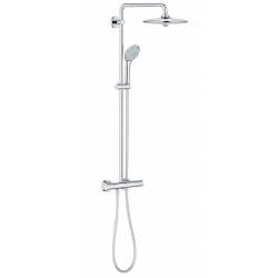 Душ система GROHE Euphoria Systems 260, с термостат, с душ глава 260 мм с 2 функции и ръчен душ с 3 функции, 27296002