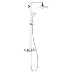 Термостатна душ система GROHE Euphoria SmartControl System 260 Mono, управление с бутони, душ глава с 3 функции и ръчен душ с 3 функции, 26509000