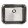 Кухненска мивка FRANKE ВТХ 210/110-50 от неръждаема стомана, монтаж под плот