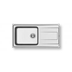Кухненска мивка PYRAMIS ALEA PLUS (100X50) 1B 1D от неръждаема стомана