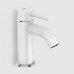 Смесител за мивка IDEAL STANDARD KOLVA, стоящ, с изпразнител, цвят Бял мат, BC666U5