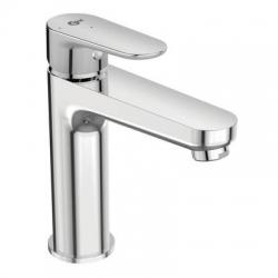 Смесител за мивка IDEAL STANDARD TYRIA BlueStart®, стоящ, с изпразнител, хром, BC154AA