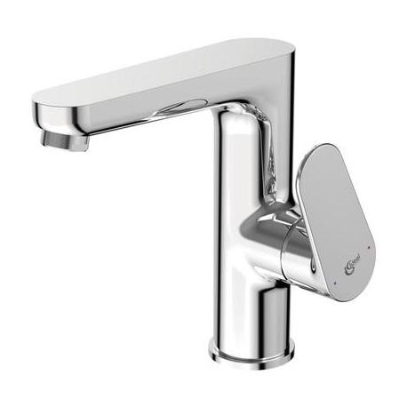Смесител за мивка IDEAL STANDARD TYRIA, стоящ с висок лят чучур, без изпразнител, хром, BC160AA