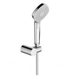 Ръчен душ IDEAL STANDARD VIDIMA Idealrain Evo Diamond, ръчен душ 115 мм с 3 функции, с подвижен държач и шлаух, хром, B2619AA