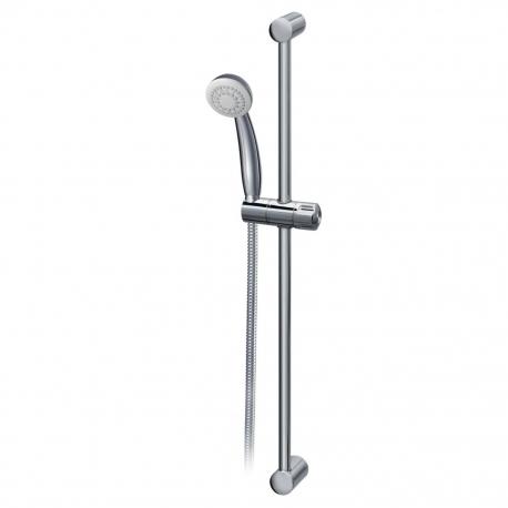 Комплект за душ IDEAL STANDARD VIDIMA SevaJet S1, ръчен душ 70 мм с 1 функция, с тръбно окачване 600 мм и шлаух, хром, B9393AA