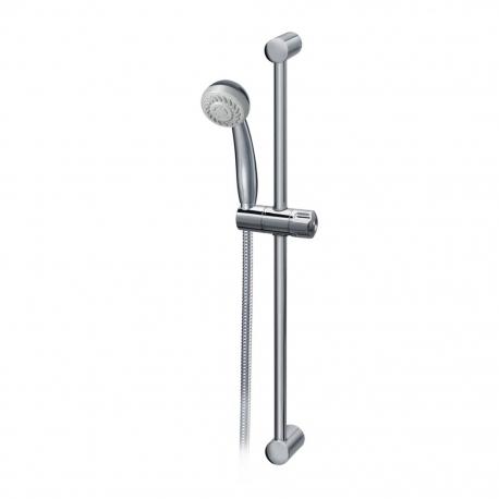 Комплект за душ IDEAL STANDARD VIDIMA SevaJet S2, ръчен душ 70 мм с 2 функции, с тръбно окачване 600 мм и шлаух, хром, B9394AA