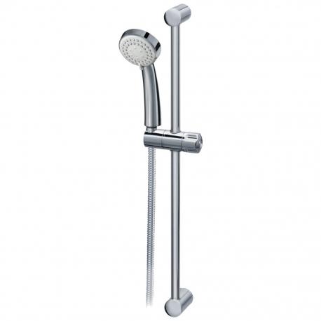 Комплект за душ IDEAL STANDARD VIDIMA SevaJet S3 ръчен душ 80 мм с 3 функции, с тръбно окачване 900 мм и шлаух, хром, B9366AA