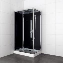 Хидромасажна душ кабина TREND 3 CL72, 120х80х210 см., квадратна, затворена