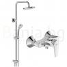 Комплект за баня IDEAL STANDARD ESLA VIDIMA BALANCE, смесител за душ, без чучур, BC228AA и душ система VidimaBalance, BC229AA