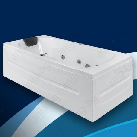 Хидромасажна вана ЕКО, ниво С, правоъгълна, различни размери