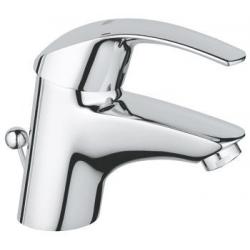 Смесител за мивка GROHE Eurosmart, с изпразнител