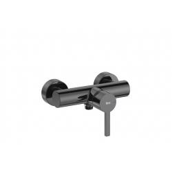 Смесител за душ ROCA NAIA Titanium Black, стенен
