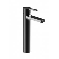 """Смесител за мивка ROCA NAIA Titanium Black, висок,стоящ за мивка тип """"Купа"""""""