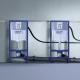 Комплект GROHE Rapid SL 39503000 MIRA, структура за вграждане, с по-малък и тънък дизайнерски бутон Skate Air S, тоалетна ROCA F