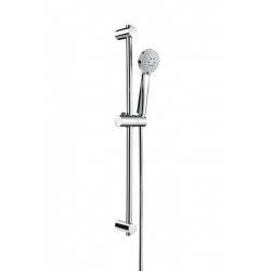 Комплект ръчен душ ROCA Stella 80 mm, с тръбно окачване 700 mm, 3 функции
