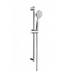 Комплект ръчен душ ROCA Stella 100 mm, с тръбно окачване 700 mm, 1 функция