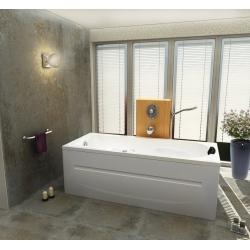Хидромасажна вана МАДРИД 170х75 см., ниво А, правоъгълна, с LED осветление и смесител с голям водопад
