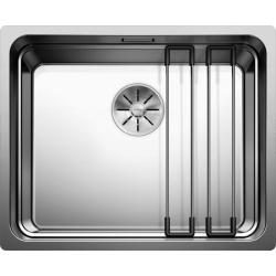 Мивка за кухня BLANCO ETAGON 500 U - за под плот, неръждаема стомана, сатен