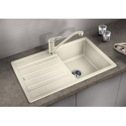 Комплект за кухня, мивка BLANCO LEGRA 45 S SILGRANIT ™, от синтетичен гранит и смесител BLANCO DARAS - Жасмин