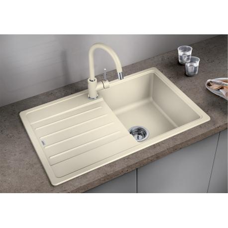 Комплект за кухня, мивка BLANCO LEGRA 45 S SILGRANIT ™, от синтетичен гранит и смесител BLANCO MIDA - Жасмин