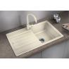 Комплект за кухня, мивка BLANCO LEGRA 45 S SILGRANIT ™, от синтетичен гранит и смесител BLANCO MIDA - различни цветове