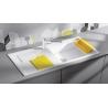 Мивка за кухня BLANCO SITY XL 6 S SILGRANIT ™ - цвят БЯЛ, от синтетичен гранит, с цветни аксесоари
