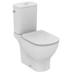 Моноблок IDEAL STANDARD Tesi AquaBlade, тоалетна чиния, казанче със странично захранване и седалка със плавно затваряне