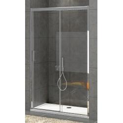 Параван за душ кабина RGS Bella W1, 6 mm, с плъзгаща врата и неподвижна част, различни размери