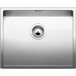 Кухненска мивка BLANCO C-STYLE 500 U от неръждаема стомана, за монтаж под плот