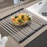 Сгъваема решетка за кухненски мивки BLANCO от неръждаема стомана, за мивки с широчина на коритото 42 см.