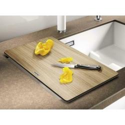 Дъска за рязане за кухненски мивки BLANCO дървена, за мивки с широчина на коритото 40 см.