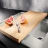Дъска за рязане за кухненски мивки BLANCO дървена, за мивки с широчина 50 см.
