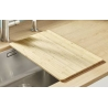 Дъска за рязане за кухненски мивки BLANCO бамбукова, за мивки с широчина на коритото 40 см.