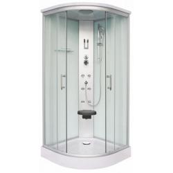 Хидромасажна душ кабина SCALA CL106, 90х90, ъглова, затворена, бяла