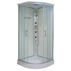 Хидромасажна душ кабина TANGO CL03, 90х90, ъглова, затворена, бяла