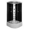 Хидромасажна душ кабина PR50, 90х90, ъглова, затворена, с високо корито