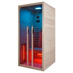 Инфрачервена сауна RUBY 1 F20090 с инфрачервени нагреватели, за 1 човек