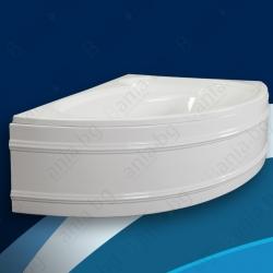 Хидромасажна вана САНИ 165х100 см., ниво В, ъглова, асиметрична