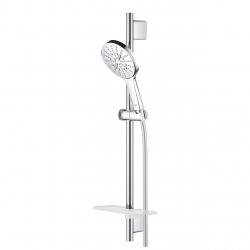 Комплект тръбно окачване GROHE Rainshower SmartActive 130, с ръчен душ с 3 струи, 26575000