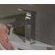 Смесител за мивка HANSGROHE Metropol 110, Черен мат, с изпразнител