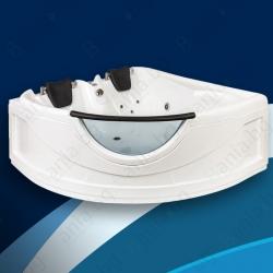 Хидромасажна вана АНИТА 150х150 см., ниво В, ъглова, с панорамно стъкло