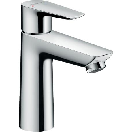 Смесител за мивка HANSGROHE TALIS E 110, Хром, с изпразнител, 71710000