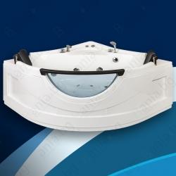 Хидромасажна вана ТИНА 135х135 см., ниво В, ъглова, с панорамно стъкло
