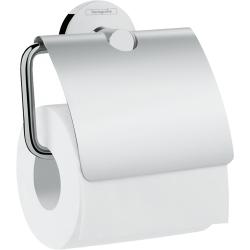 Аксесоари за баня Hansgrohe LOGIS UNIVERSAL - Поставка за тоалетна хартия с капак, 41723000