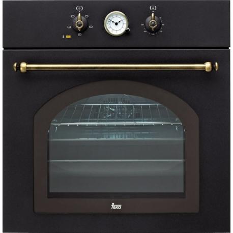 Фурна за вграждане TEKA HR 550 с 5 режима на готвене, антрацит/месинг, кънтри стил